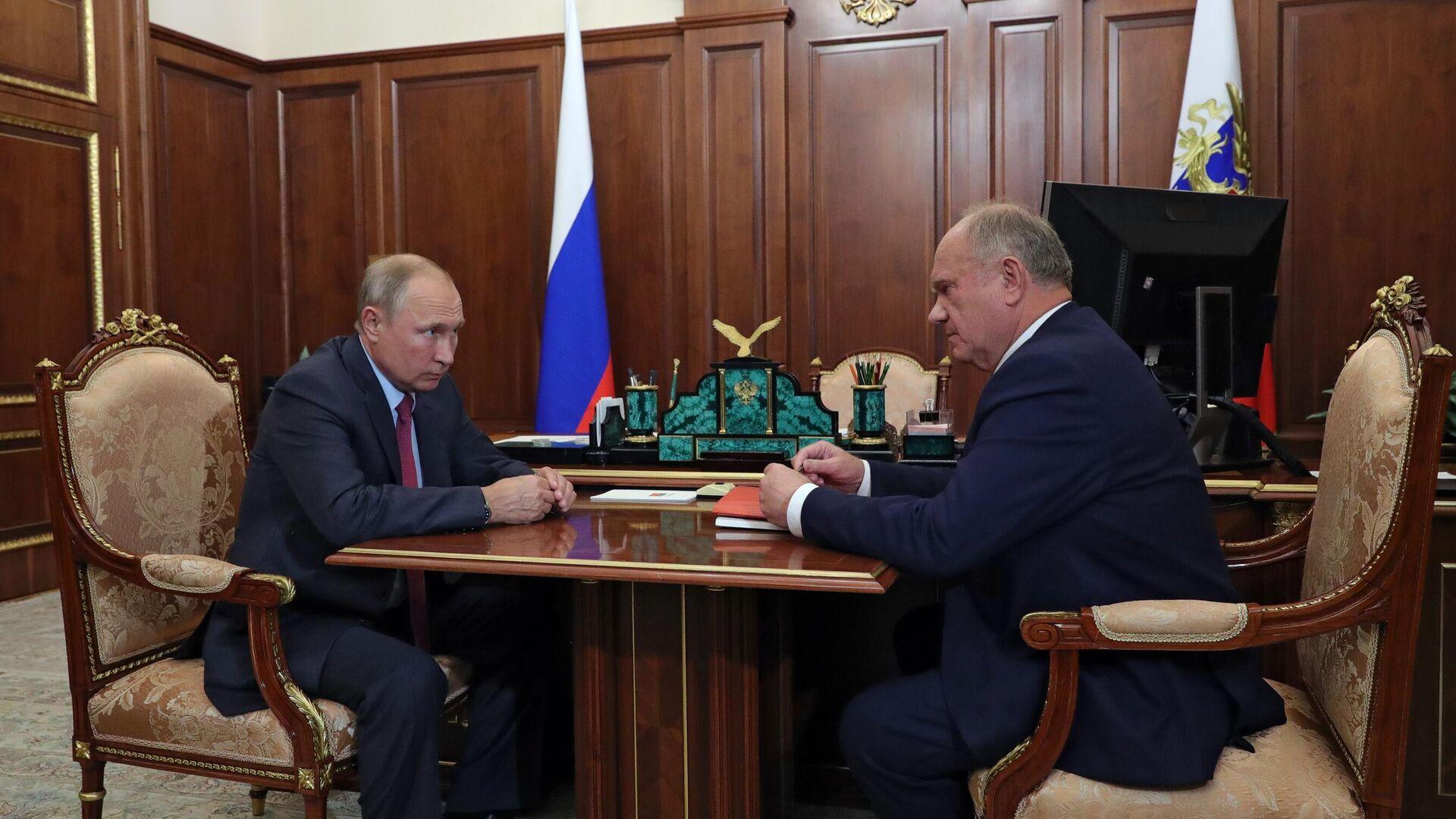 КПРФ выдвинула Новикова на пост спикера Госдумы