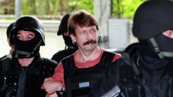 Арест Виктора Бута в Таиланде. 2010 год
