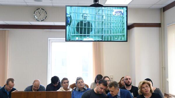 Заседание Московского городского суда по делу актера Павла Устинова