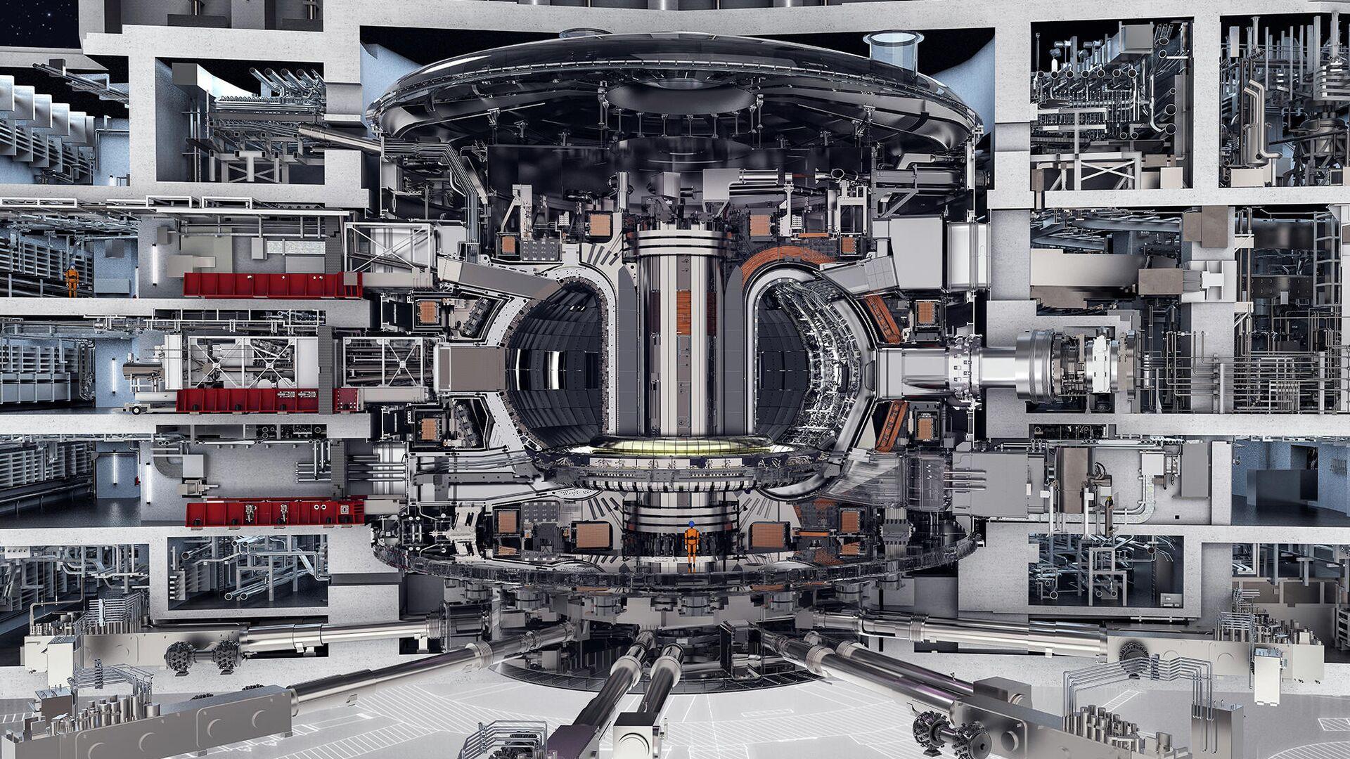 Международный экспериментальный термоядерный реактор (ITER) - РИА Новости, 1920, 11.08.2020