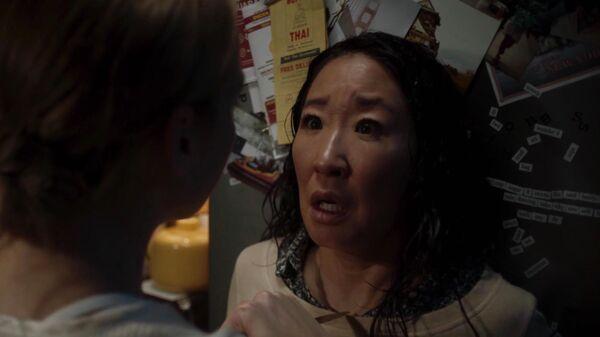 Кадр из сериала Убивая Еву