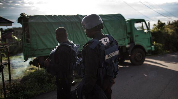 Сотрудники полиции Камеруна