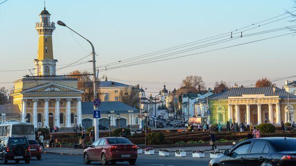 Сусанинская площадь в Костроме