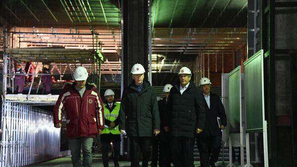 Строительство станции метро Лефортово
