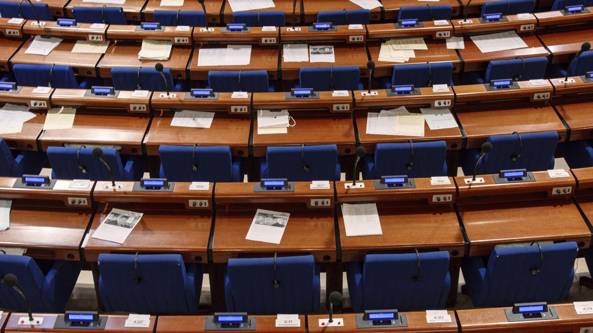 Зал заседаний Парламентской ассамблеи Совета Европы - РИА Новости, 1920, 28.04.2021