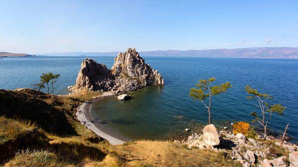 Остров Ольхон на озере Байкал