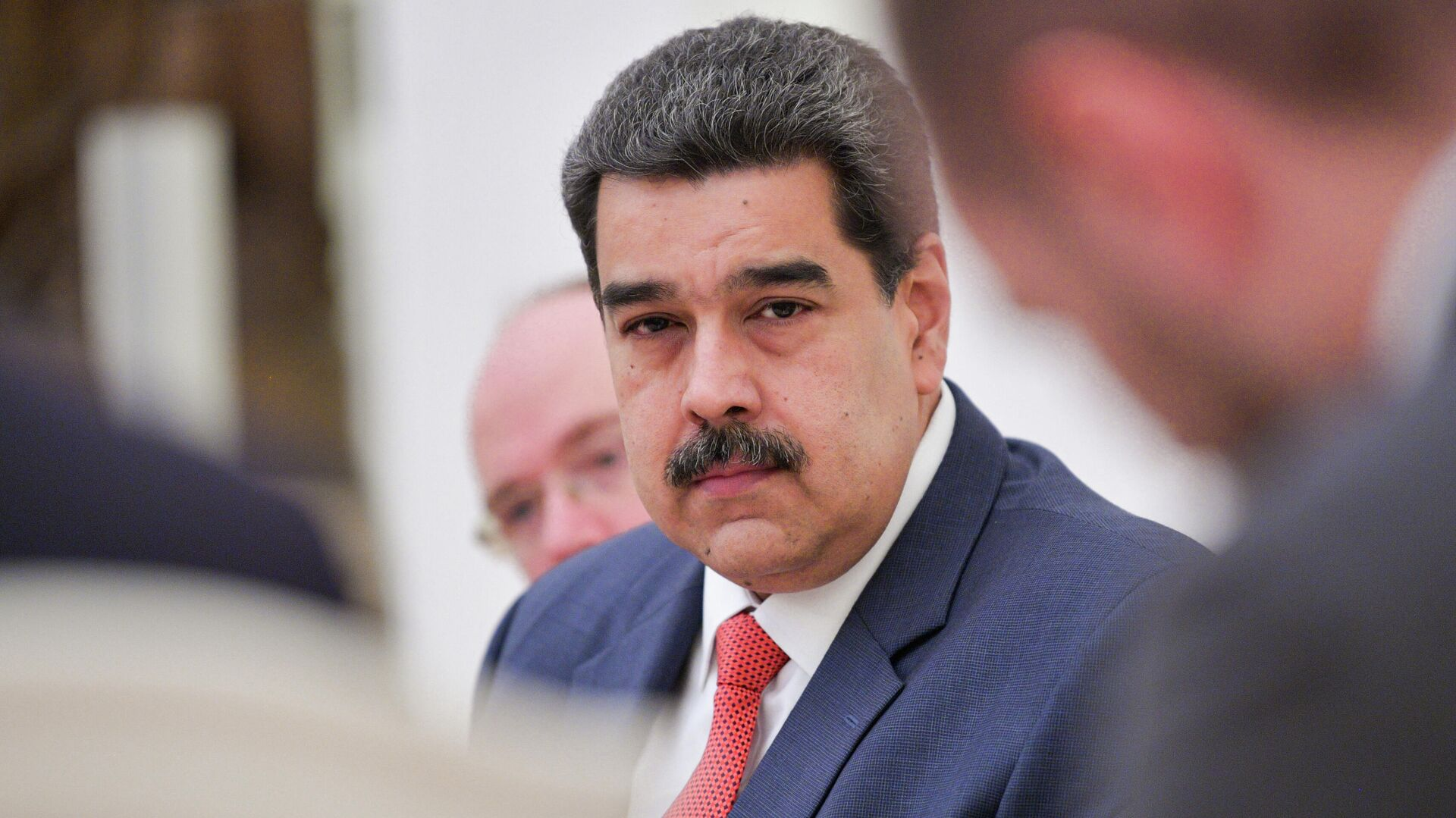 Президент Венесуэлы Николас Мадуро во время встречи с президентом РФ Владимиром Путиным - РИА Новости, 1920, 06.12.2020