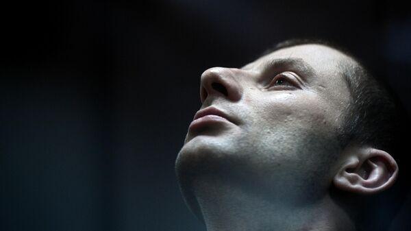Денис Чуприков во время оглашения приговора в Замоскворецком суде Москвы