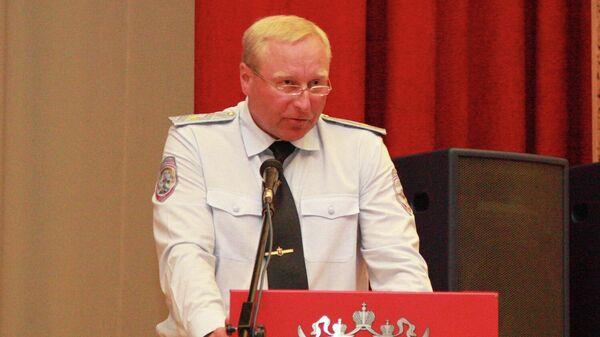 Первый заместитель начальника ГУОООП МВД России генерал-майор полиции Александр Мельников