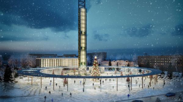 Проект реконструкции центральной площади Якутска