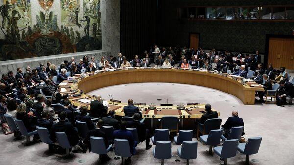 Заседание Совета безопасности в рамках 74-й сессии Генеральной Ассамблеи ООН