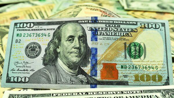 Банкнота номиналом 100 долларов США