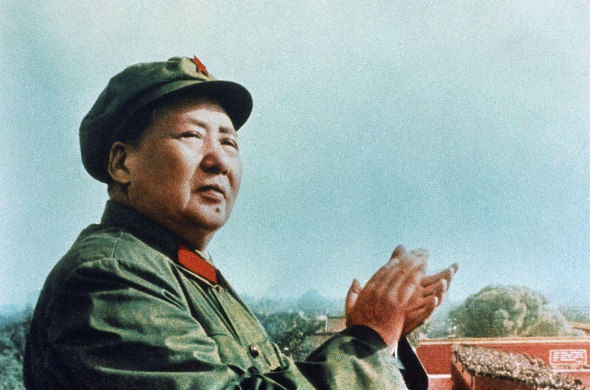 Мао Цзэдун, 21 февраля 1952 года  - РИА Новости, 1920, 08.09.2021