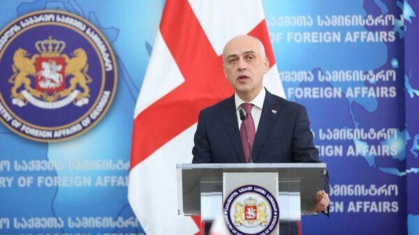Министр иностранных дел Грузии Давид Залкалиани