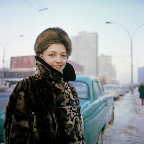 Советская гимнастка Наталья Кучинская