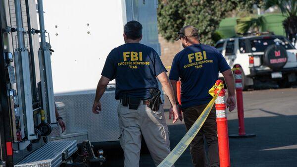 Агенты ФБР в Калифорнии