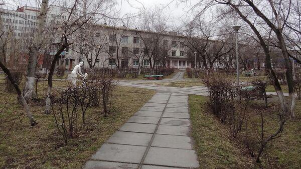Сквер детской больницы в Северске
