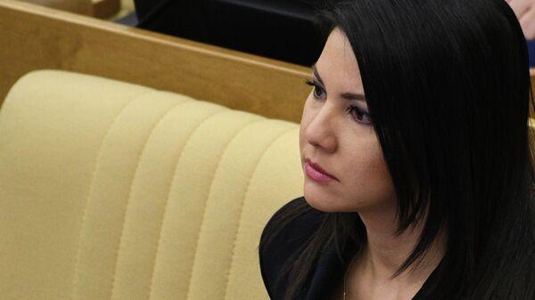 Член комитета ГД по вопросам семьи, женщин и детей Инга Юмашева