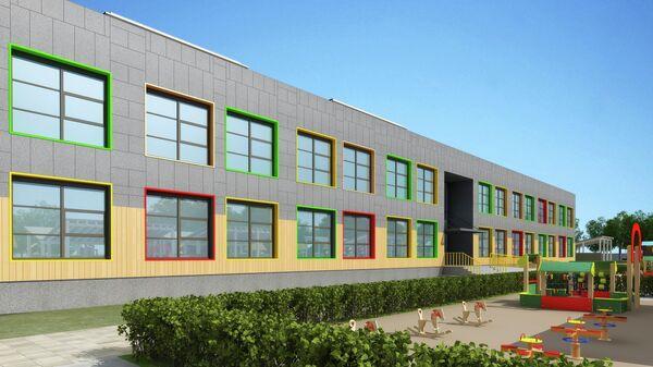 Проект детского сада в ЖК Наследие в Москве