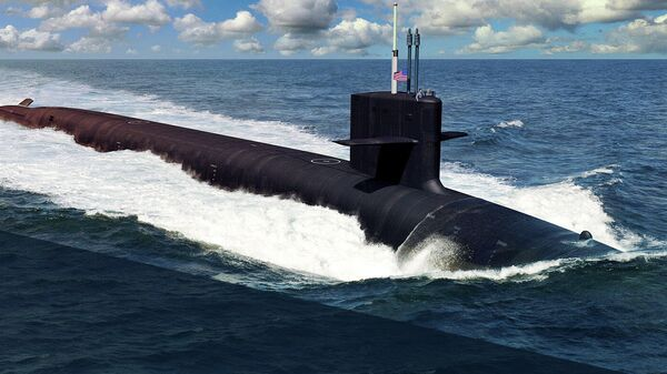 Атомная подводная лодка типа Колумбия