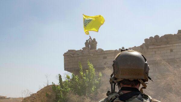 Военнослужащие Сирийских демократических сил (SDF)