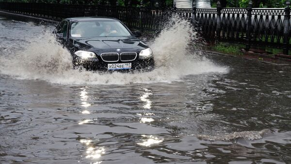 Москва после дождя