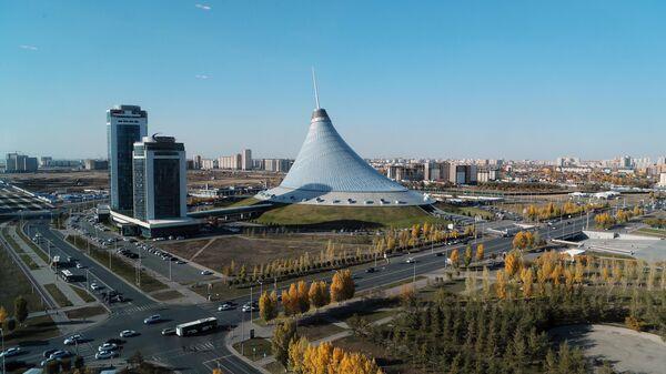 Торговый центр Хан Шатыр в Нур-Султане