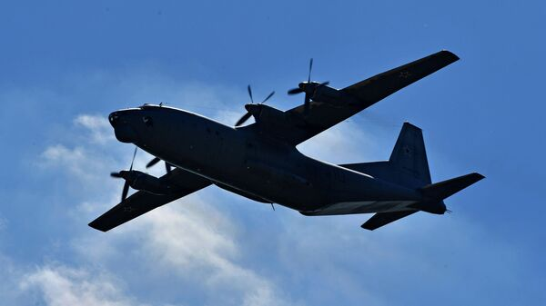 Военно-транспортный самолёт Ан-12