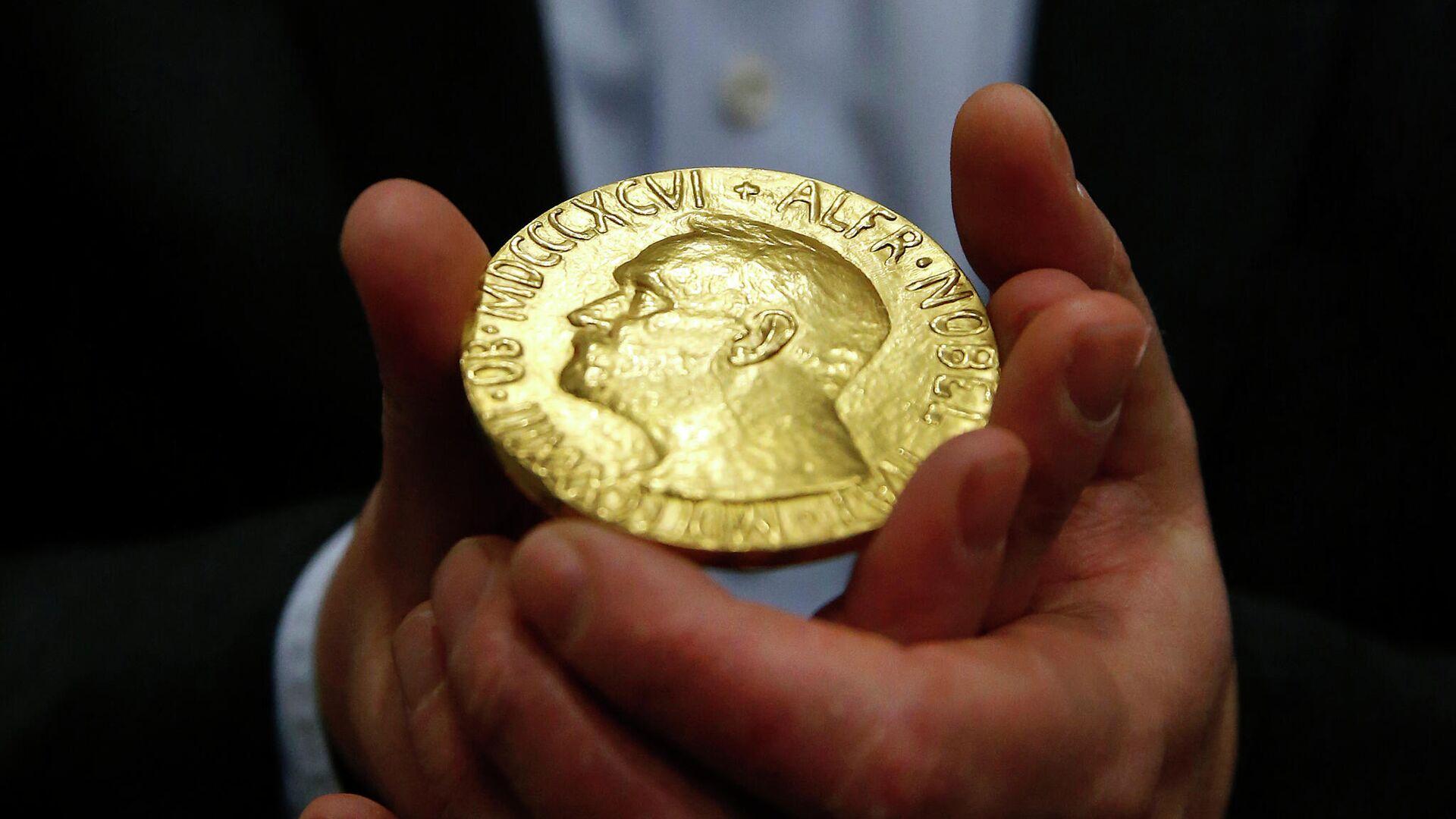 Медаль лауреата Нобелевской премии - РИА Новости, 1920, 05.10.2021