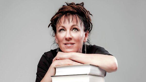 Польская писательница Ольга Токарчук