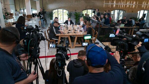 Пресс-марафон с Президентом Украины Владимиром Зеленским