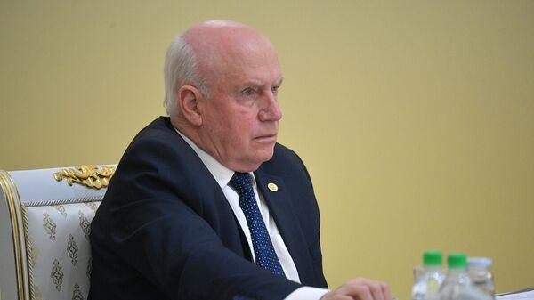 Сергей Лебедев на заседании Совета глав государств СНГ