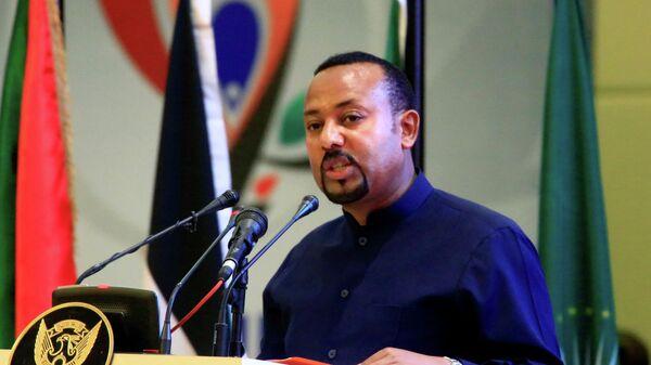 Премьер-министр Эфиопии Абий Ахмед Али