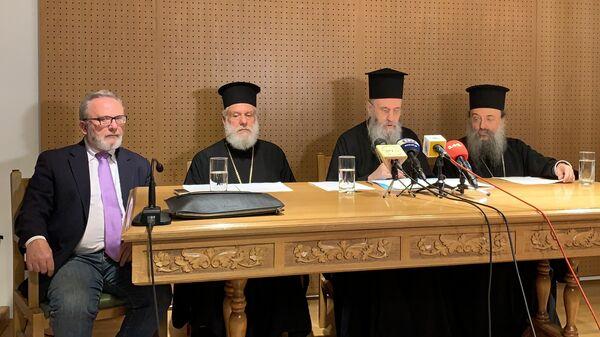 Официальное оглашение итогов Архиерейского собора Элладской церкви в Греции