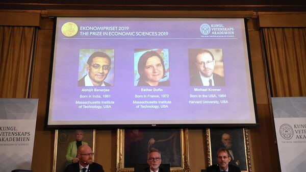 Лауреаты Нобелевской премии по экономике 2019 года