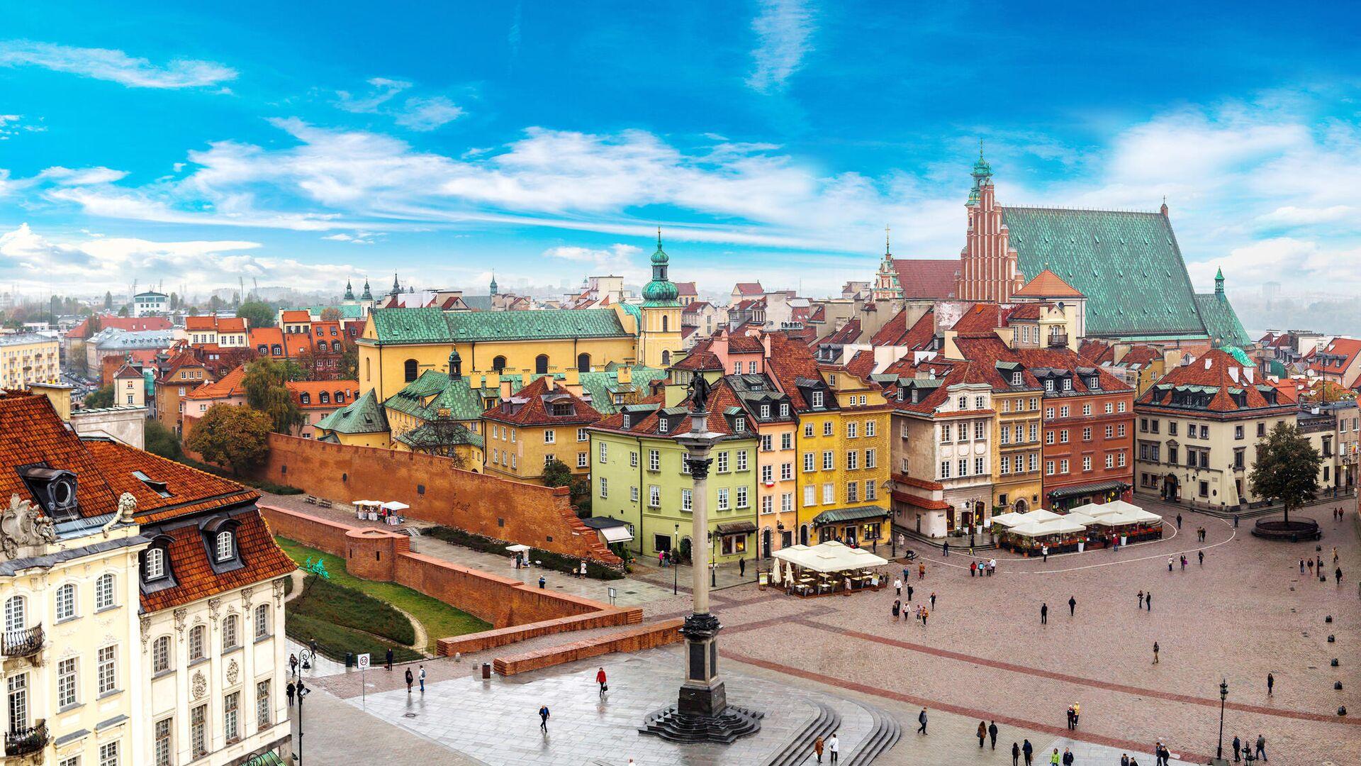 Вид Варшавы2