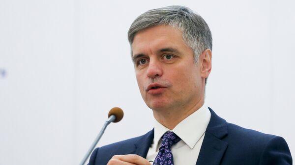 Министр иностранных дел Украины Вадим Пристайко