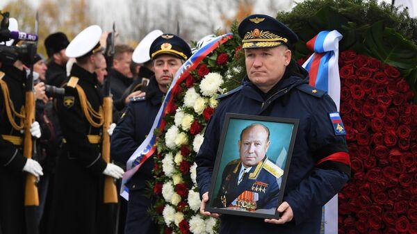 Церемония похорон летчика-космонавта СССР, дважды Героя Советского Союза генерал-майора авиации Алексея Леонова