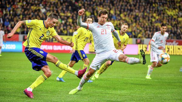 Матч Швеция - Испания