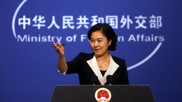 Директор департамента информации и печати МИД КНР Хуа Чуньин