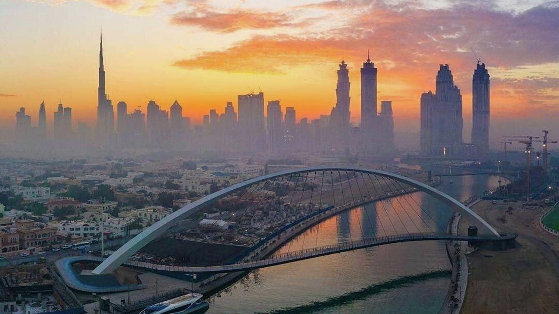 Мост толерантности в Дубае - РИА Новости, 1920, 05.04.2021