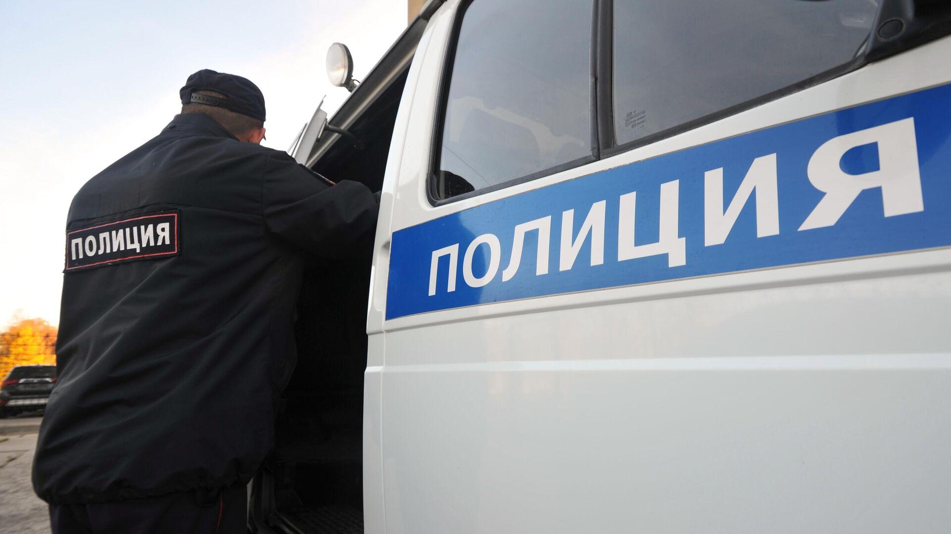 Сотрудник полиции - РИА Новости, 1920, 17.10.2020