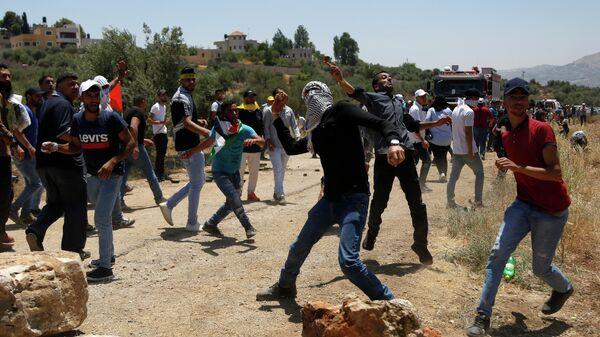 Столкновения между палестинцами и израильтянами