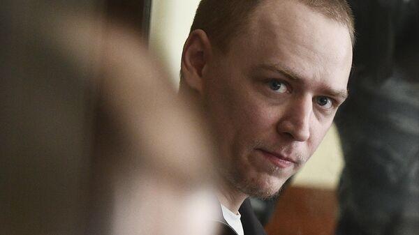 Обвиняемый по делу Нового величия Дмитрий Полетаев