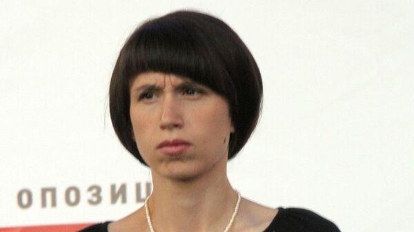 Бывший депутат Верховной рады Украины Татьяна Черновол