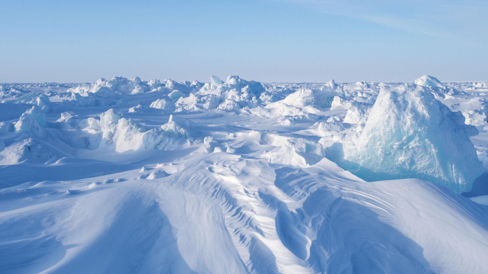 Дрейфующий ледовый лагерь Барнео в Арктике - РИА Новости, 1920, 24.12.2020