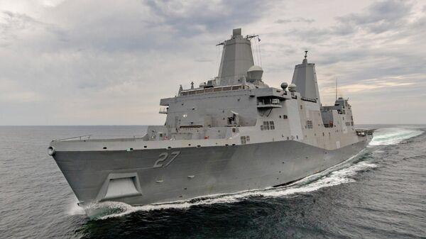 Корабль ВМС США USS Portland