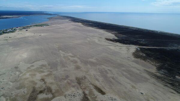 Вид на Кузоменские пески