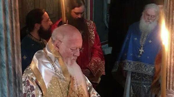 Визит Патриарха Варфоломея на Афон