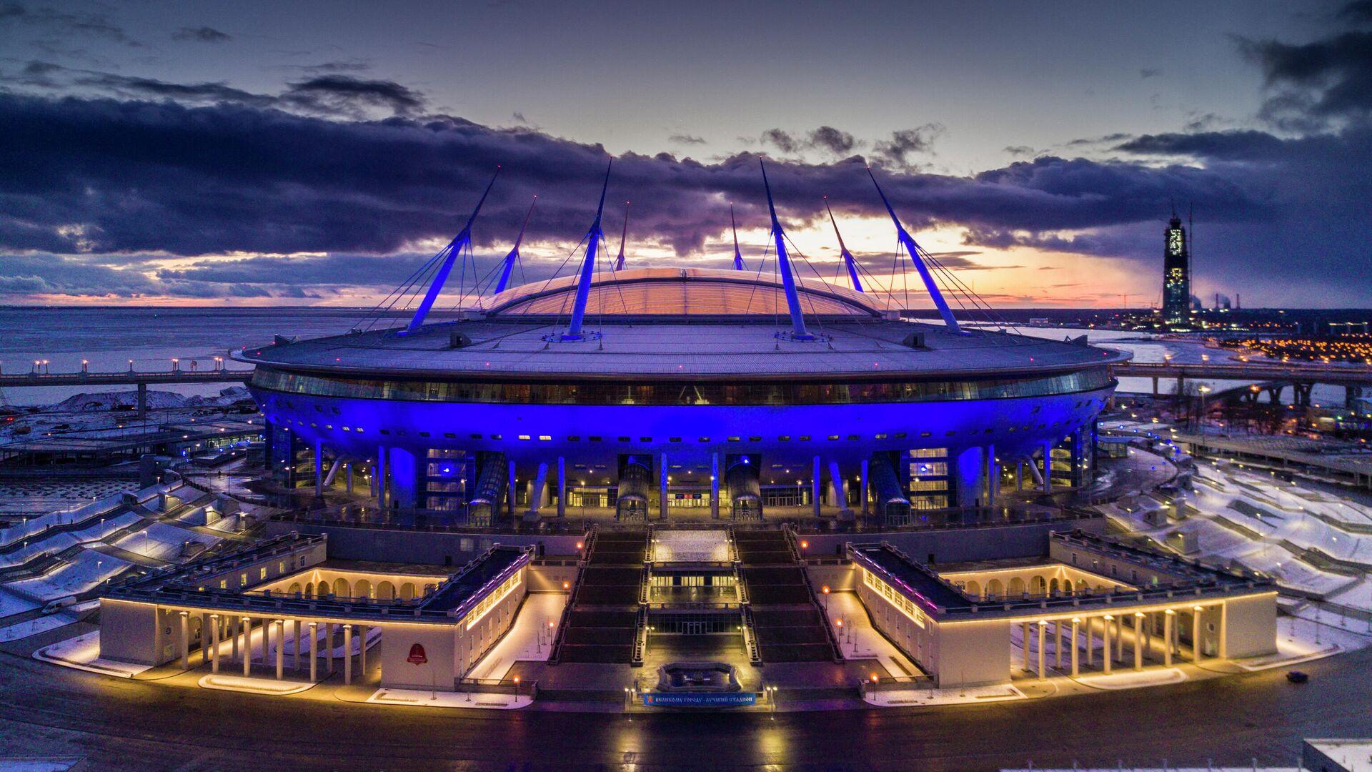 Стадион Санкт-Петербург Арена - РИА Новости, 1920, 22.09.2021